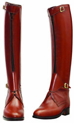 Handmade Leather Tall Riding Boots Men Boots For Horse Riding Polo Boots