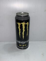 Monster Energy Drink M-80 M80 Full Collectors Can. Basic Wear And Tear