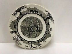 Wedgwood Kruger Park Waterbuck Plate 1st Edition