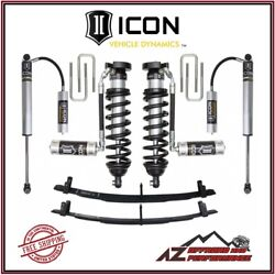 Icon Vehicle Dynamics 0-3 Stage 3 Suspension System For 1996-2004 Toyota Tacoma