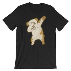 Dabbing French Bulldog Dab Dance Puppy Lover Short-Sleeve Unisex T-Shirt
