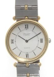 And Steel And 18k Yellow Gold Plated La Collection 29mm Watch
