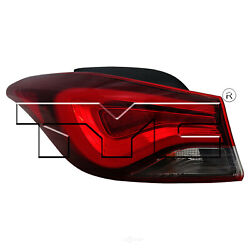 Tail Light Assembly-NSF Certified TYC 11-6760-00-1 fits 14-15 Hyundai Elantra