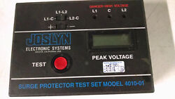 Joslyn Electronic Systems Bourns 4010-01 - Surge Protector Test Set Powers On