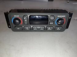 98-99 CORVETTE C5 DIGITAL AUTOMATIC CLIMATE CONTROL HVAC HEAT AC DUAL ZONE