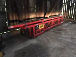 Vibratory Vibration Feeder Pan Trough 14and039and039 Wide X 25and039 Long Good Condition
