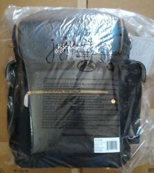 NWT Jujube EVER COLLECTION Vegan Leather NOIR Black Forever Backpack +Change Pad