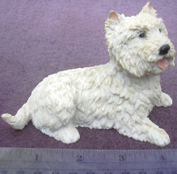 Castagna Westie West Highland White Terrier Dog Figurine Made In Italy
