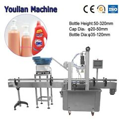 Automatic Linear Screw Capping machine Mist Plastic Trigger Spray Bottle Sealer