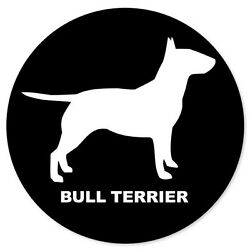 BULL TERRIER dog car bumper sticker decal 4