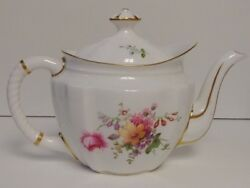 Royal Crown Derby Derby Posies Rope Handled Small Teapot More Items Available