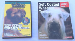 Soft Coated Wheaten Terrier Training Book & DVD Pet Owner's Manual Dog Grooming