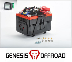 Genesis Offroad Dual Battery Kit 200a Isolator And Monitor For 07-20 Toyota Tundra