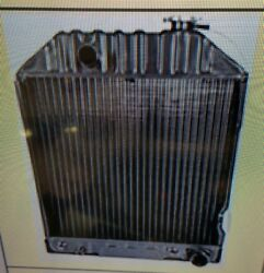Ford New Holland Radiator 5000, 5600, 6600, 7600, 7700, 5610, 6610, 6710 Without