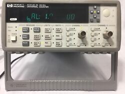 Hp, 53131a Universal Frequency Counter,great Working Condition-30 Days M/back