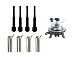 Melasty Rubber Inflation 12 Long/stainless Steel Shell/milking Claw 200cc Combo