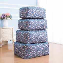 Home Comforter Storage Bags Dust Covers Clothing Bedding Toys Wardrobe Organizat