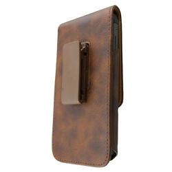 caseroxx Doro 540X Premium Case Outdoor Case in brown made of real leather  wit