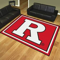 Ncaa - Rutgers 8and039x10and039 Rug