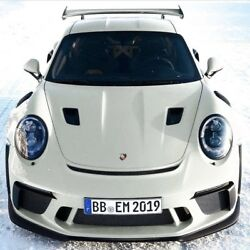 Porsche 991.2 GT3RS style hood w air intake scoops for 991 Turbo
