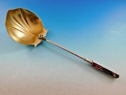 Isis By Gorham Sterling Silver Gravy Ladle Gold Washed W/ Snake And Wings 8 1/2