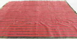 R27504 Superb Quality Wool And Silk Tibetan Area Rug 9and039 X 12and039 Garnet Red Mi Nepal