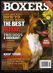 BOXERS of Dog Fancy Magazine TRAIN RIGHT FROM THE START Give That Dog A Job WOW