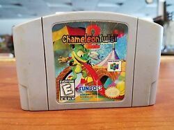 Chameleon Twist 2 - Nintendo 64 - N64 - TESTED & WORKS