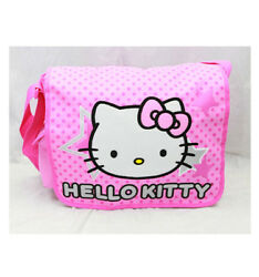 Hello Kitty Star Messenger Bag for Kids New Girls Sanrio Pink