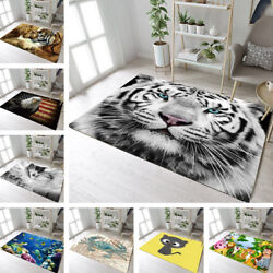 Animals Home Kids Play Soft Carpet Floor Living Room Yoga Mat Decor Area Rugs