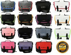 Fusion 5 Andreg 108 Fhd Tablet 10.6 Twin Compartment Messenger Case Bag By Tgc Andreg