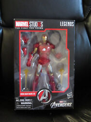 Marvel Legends 6quot; MCU Studios First Ten Years Iron Man Mark VII 7 Avengers *READ