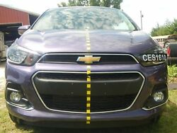 2016 Chevrolet Spark 1lt 1.4l At Front End Clip Nose Purple Nto Iihs Test Car