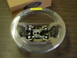 Nos 1999 2000 2001 Ford Mustang Beige Leather Steering Wheel Two Tone New Oem