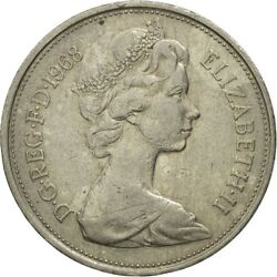 [546140] Coin, Great Britain, Elizabeth Ii, 10 New Pence, 1968, Vf30-35
