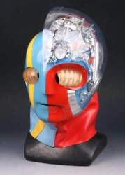 Android Kikaider Mask Cosplay Japanese Anime 1/1 Msize From Japan F/s