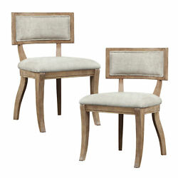 Madison Park Signature Marie Side Upholstered Dining Chair Set of 2