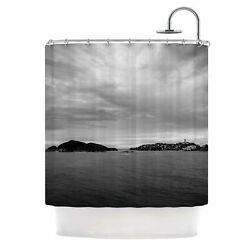East Urban Home 'Deep Cloudy Ocean' Photography Shower Curtain