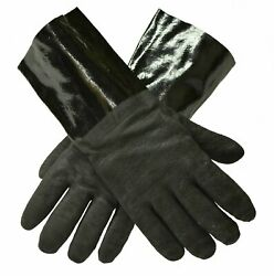 G And F 8119new Bbq Gloves Grill Smoker Insulated Waterproof Heat Resistant 14 In