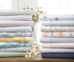 Home Collection Premium Ultra Soft Patterned Bed Sheet Set 11 Pattern Choices