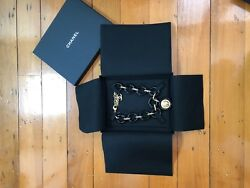 Arts And Metiers 2018 Black Resin Gold Logo Necklace Sold Out