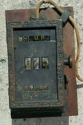 Antique Rare New Haven Ct Car Register Co Streetcar Trolley Museum Quality