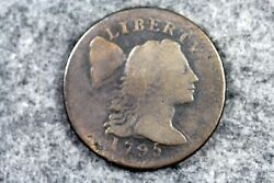 Estate Find 1795 - Flowing Hair Large Cent H5469