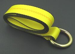 50 Lasso Straps 8and039 Wrecker Car Hauler Tow Truck Dolly Tire Wheel Tie Down Strap