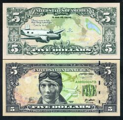 Usa 5 2018 Private Issue Essay Proposed Design - Amelia Earhart