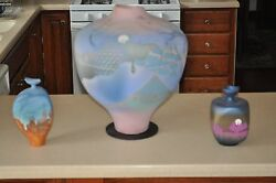 Tom Krueger, Settlement Clay Studio, One-of-a-kind Contemporary Pottery Vases