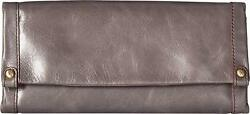 Hobo Women's Vintage Leather Fable Wallet Clutch Graphite