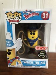 Funko Pop Ad Icons Twinkie The Kid Glow Chase Limited Edition 31 Free Shipping