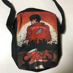 AKIRA shoulder bag Black Japan Rare Mens Bags From Japan FS