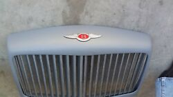 81 To 99 Bentley Turbo R L Front Grill Complete Refurbished Vanes Shell Emblem